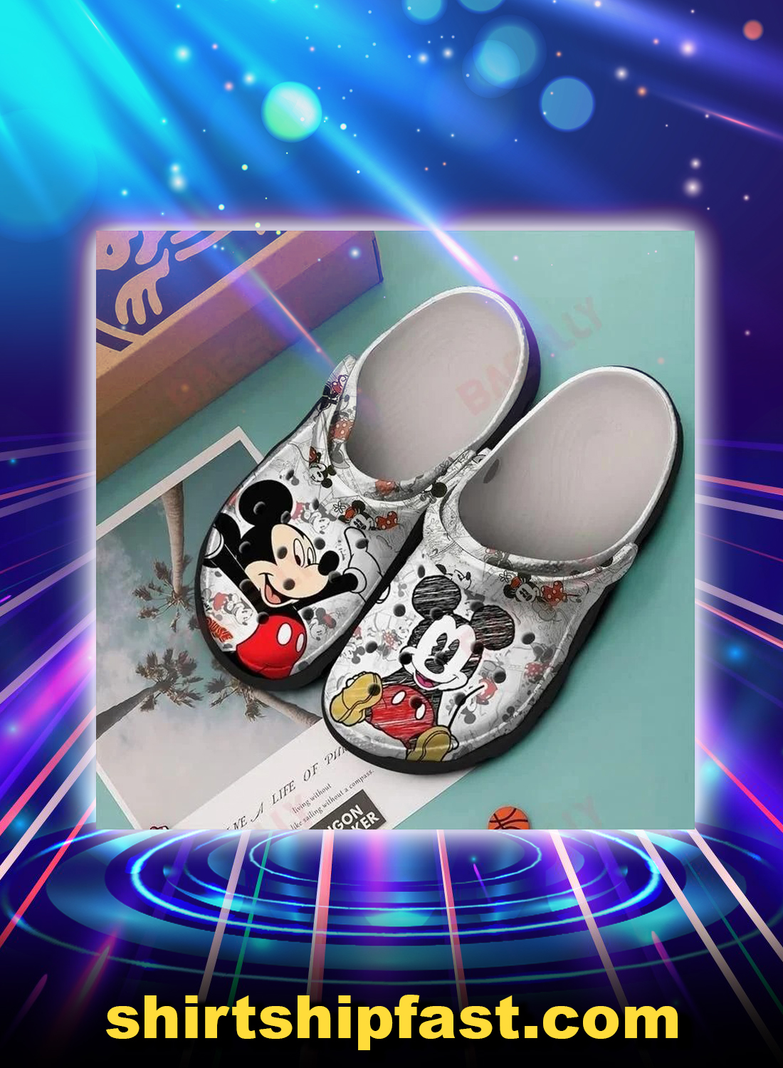 Mickey crocs crocband clog - Picture 1