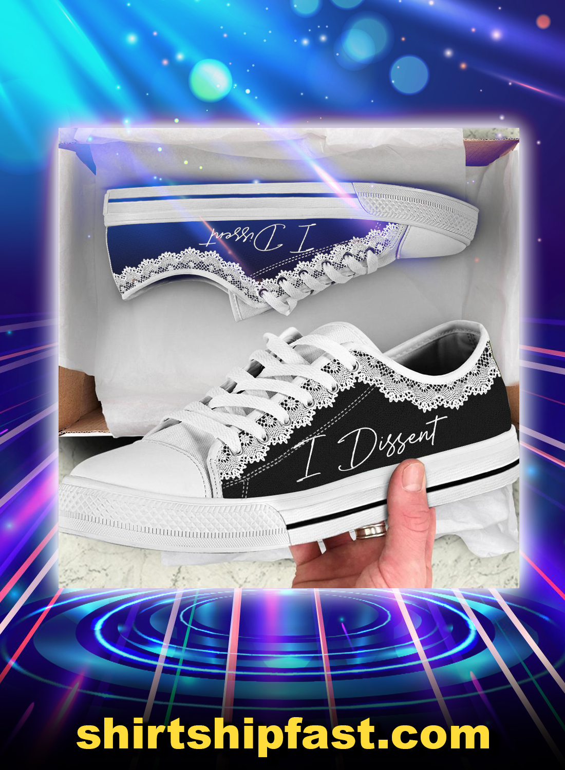 Rbg I dissent low top shoes - Picture 1