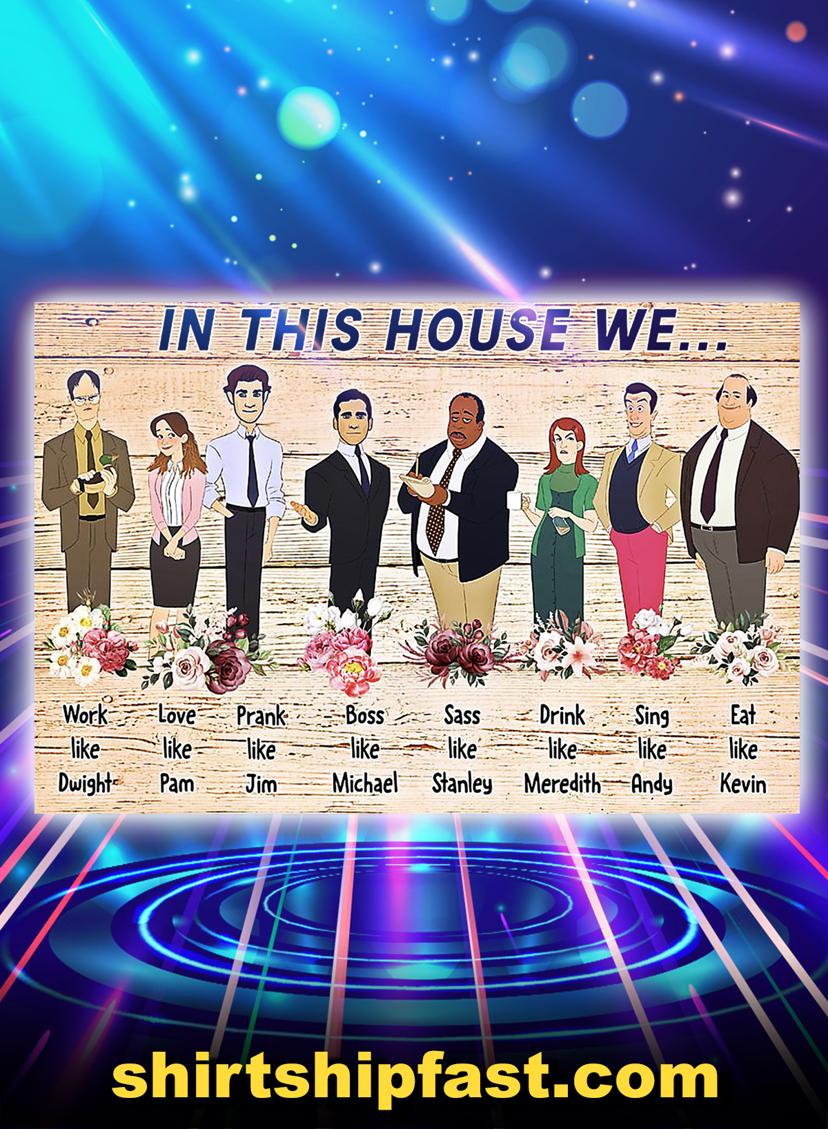 The office in this house we poster - A4