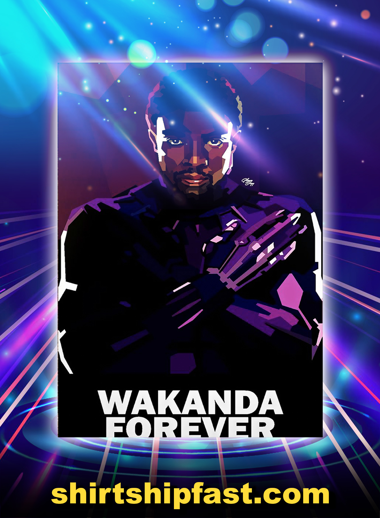 Wakanda Forever Poster - A1
