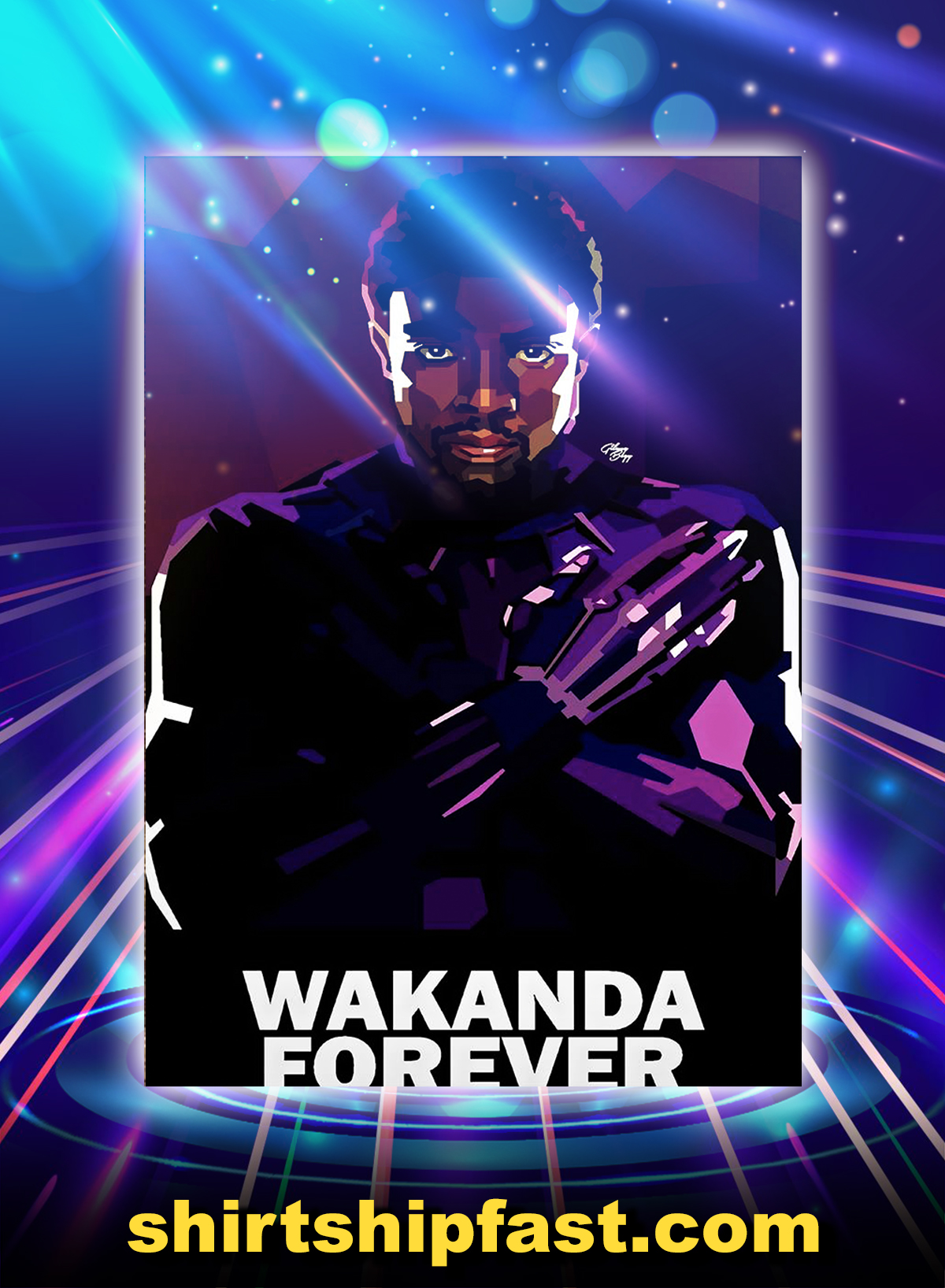 Wakanda Forever Poster - A4