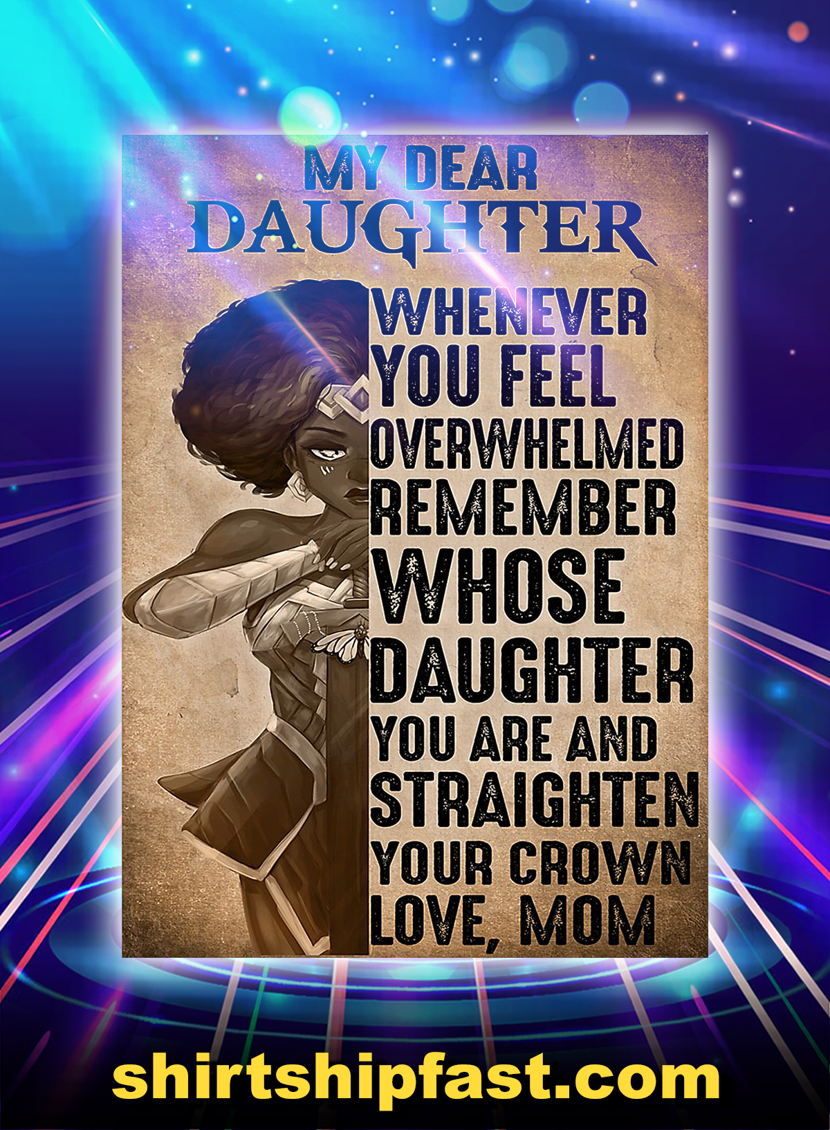 Heroine my dear daughter whenever you feel poster
