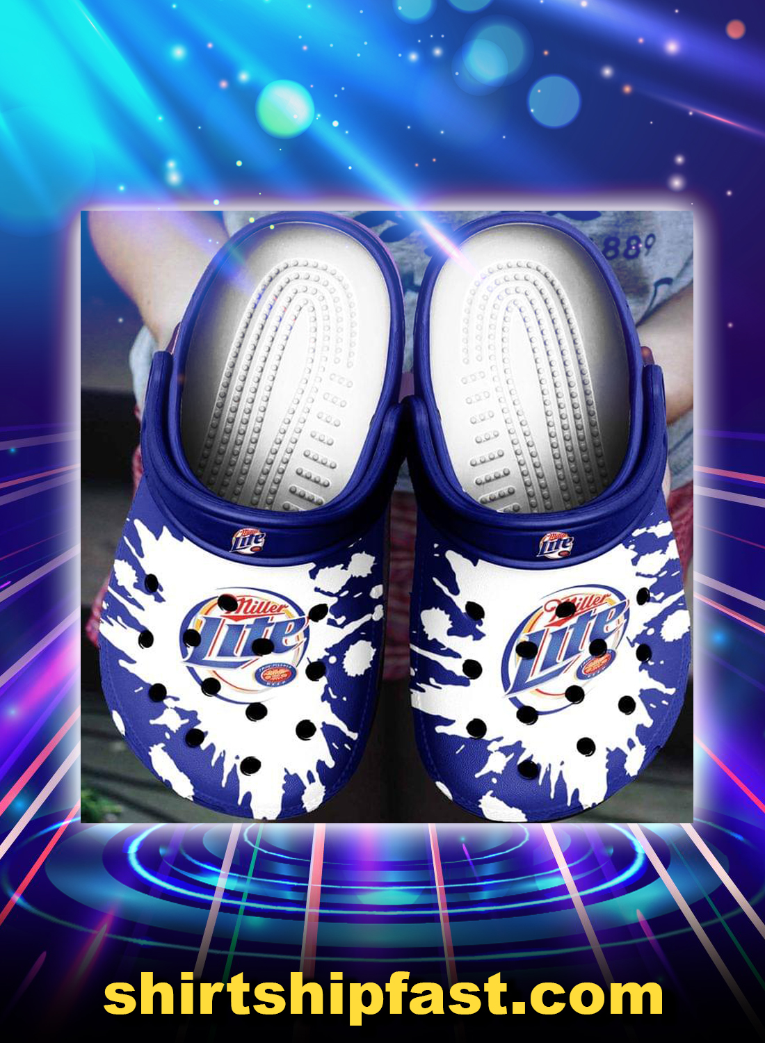 Miller lite crocband crocs shoes - Picture 1