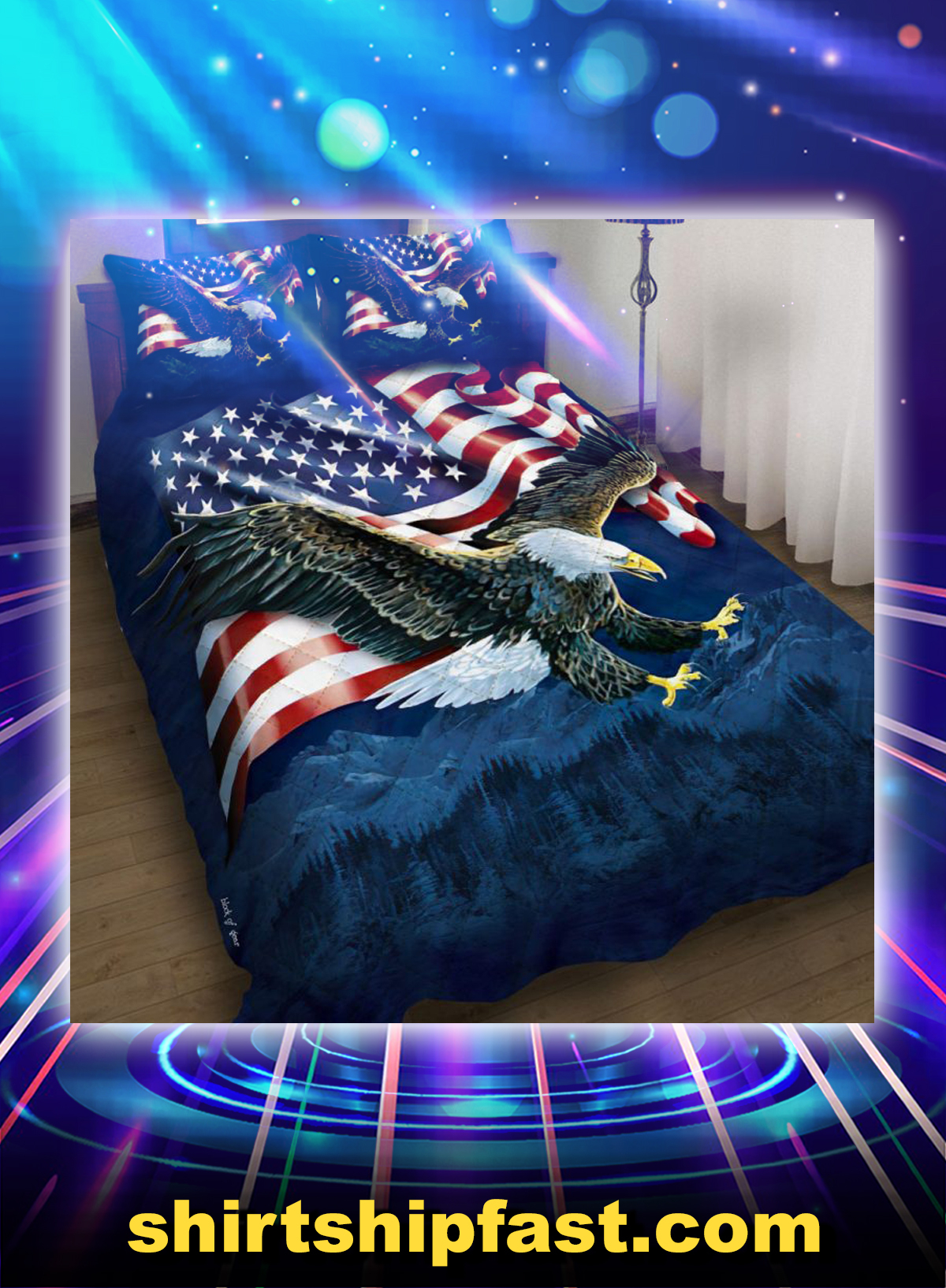 American eagle bedding set - Picture 1
