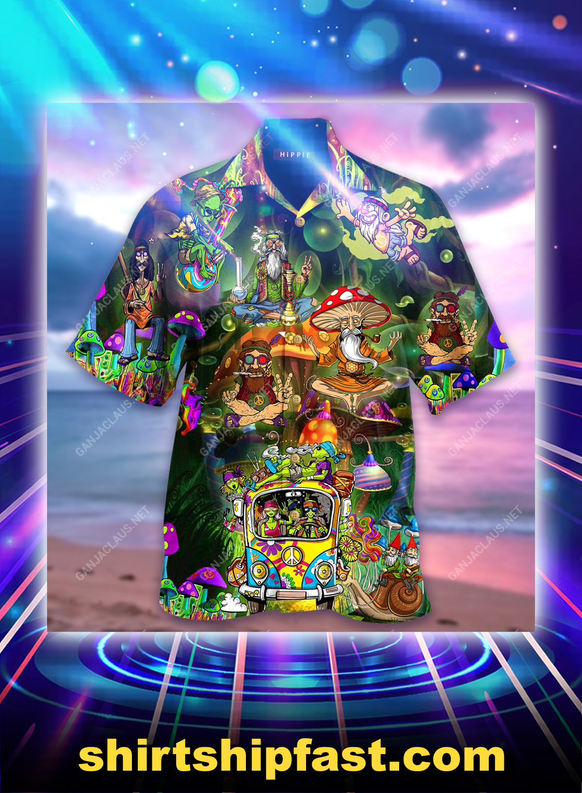 It's a hippie thing you wouldn't understand hawaiian shirt and short sleeve shirt - Picture 1