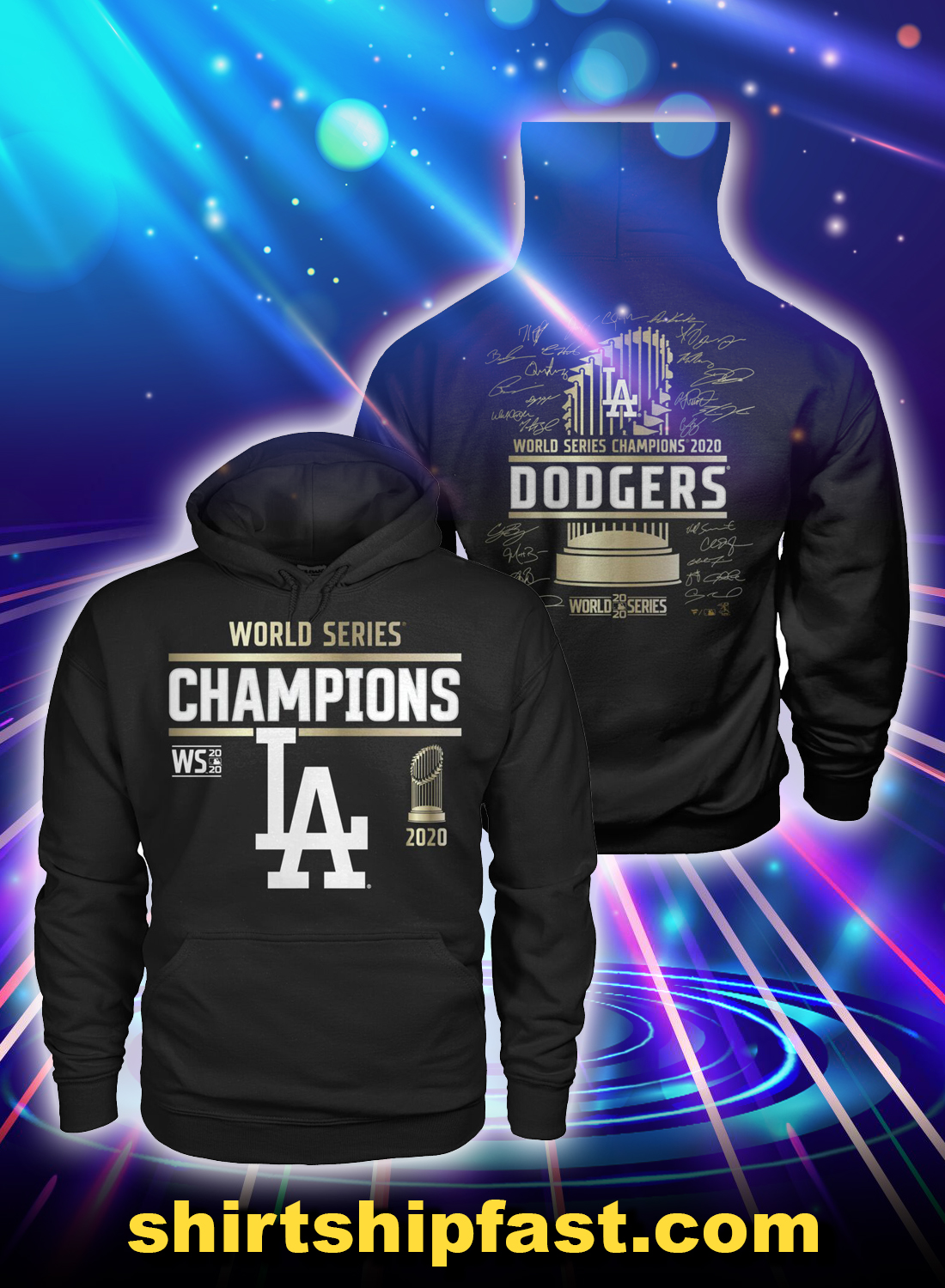 LA Laker 2020 world series champions hoodie