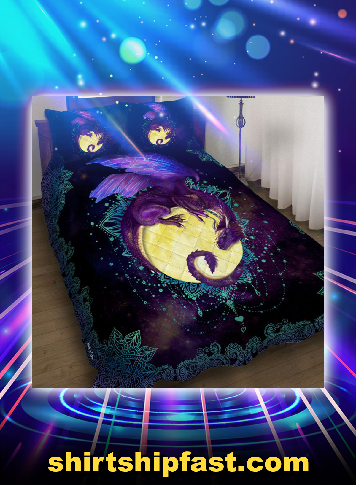 Bed Set Dragon of the moon - Picture 1