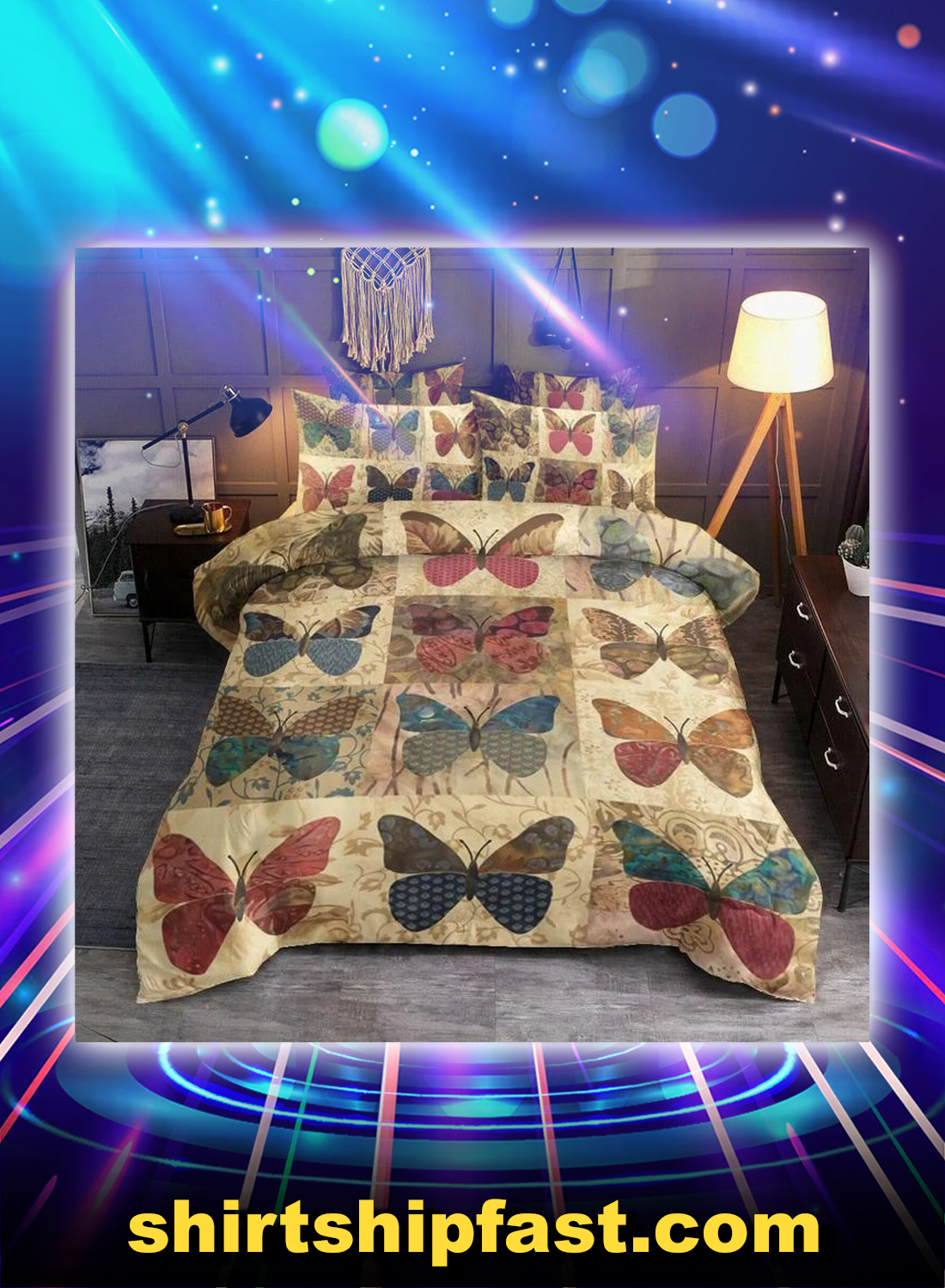 Butterfly bedding set - Picture 1