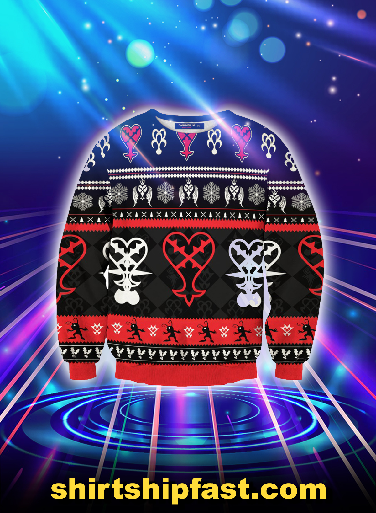 Heartless christmas ugly christmas sweater - Picture 1