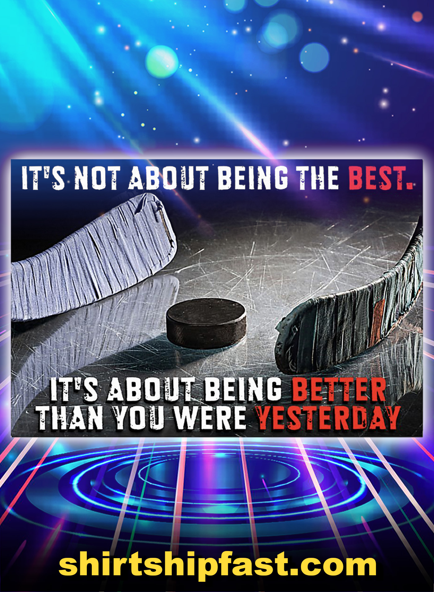 Hockey It's not about being the best poster - A1