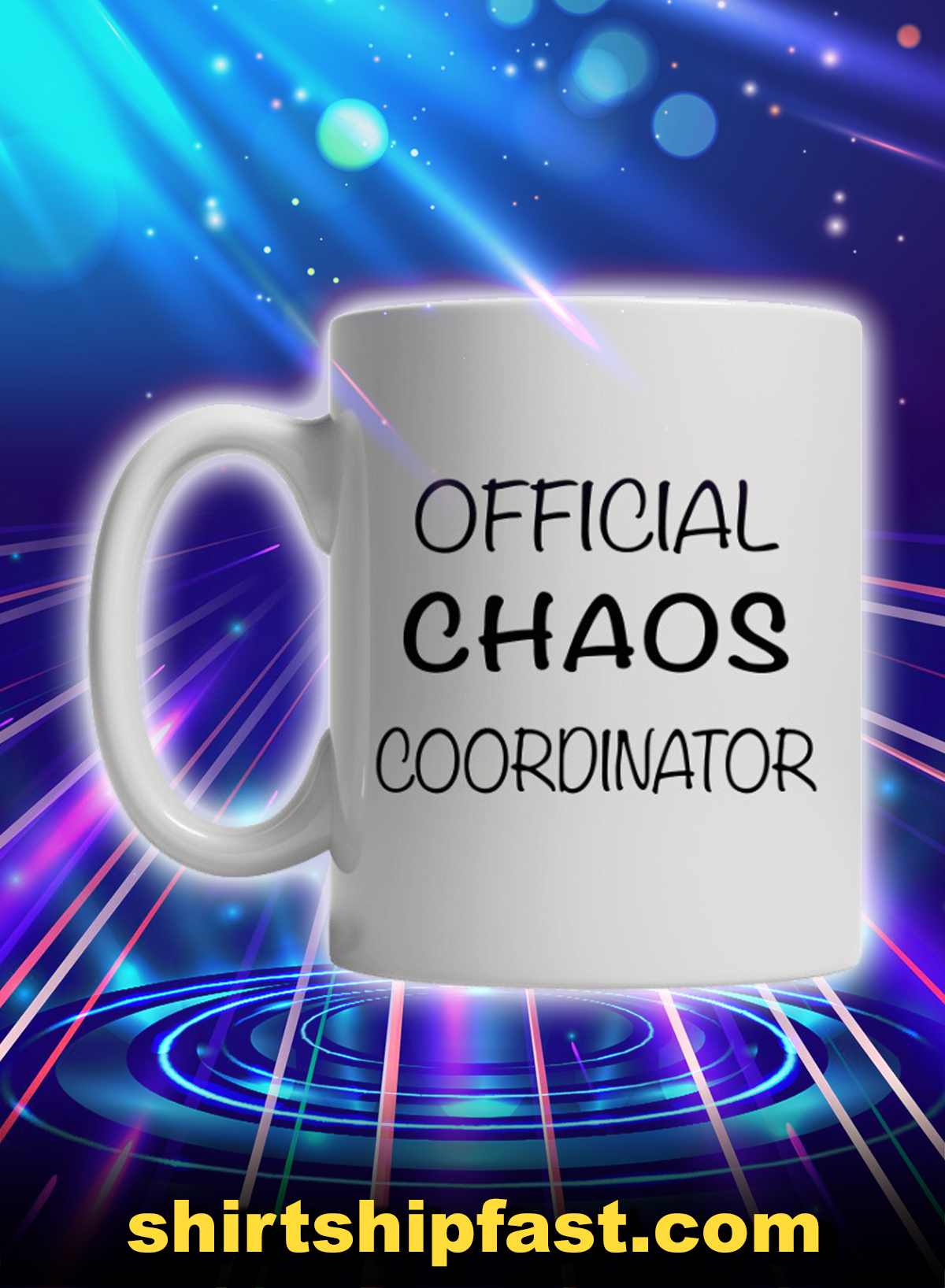 Official chaos coordinator mug - Picture 1