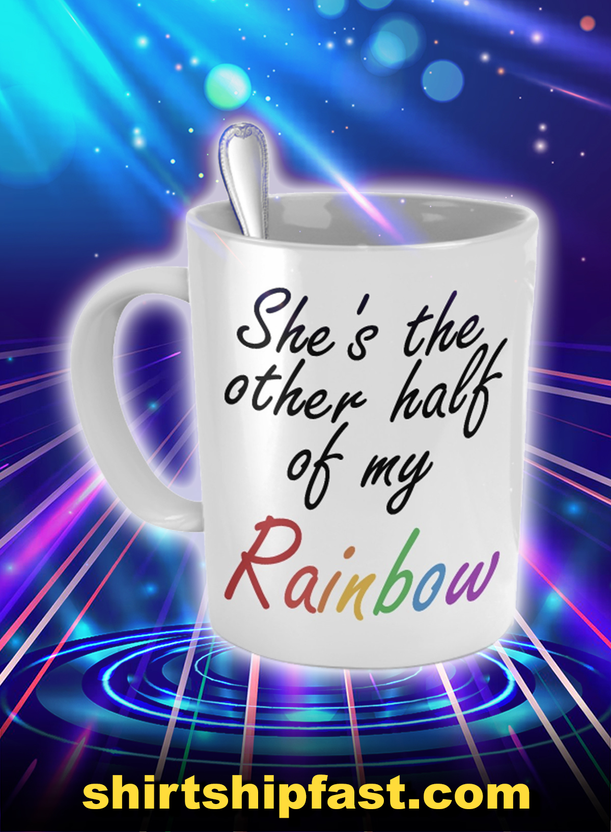 She's the other half of my rainbow mug - Picture 1