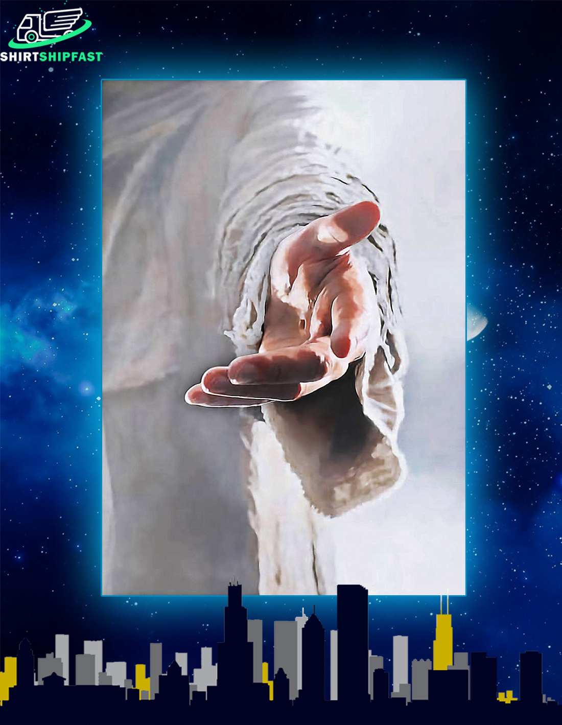 God jesus Give me your hand poster - Picture 1