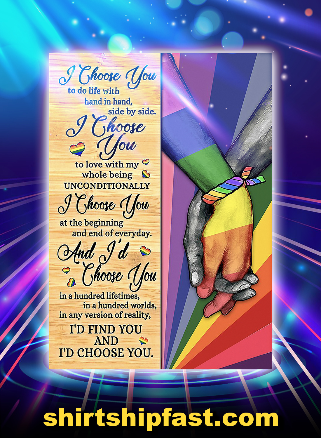 Poster LGBT I choose you - A4