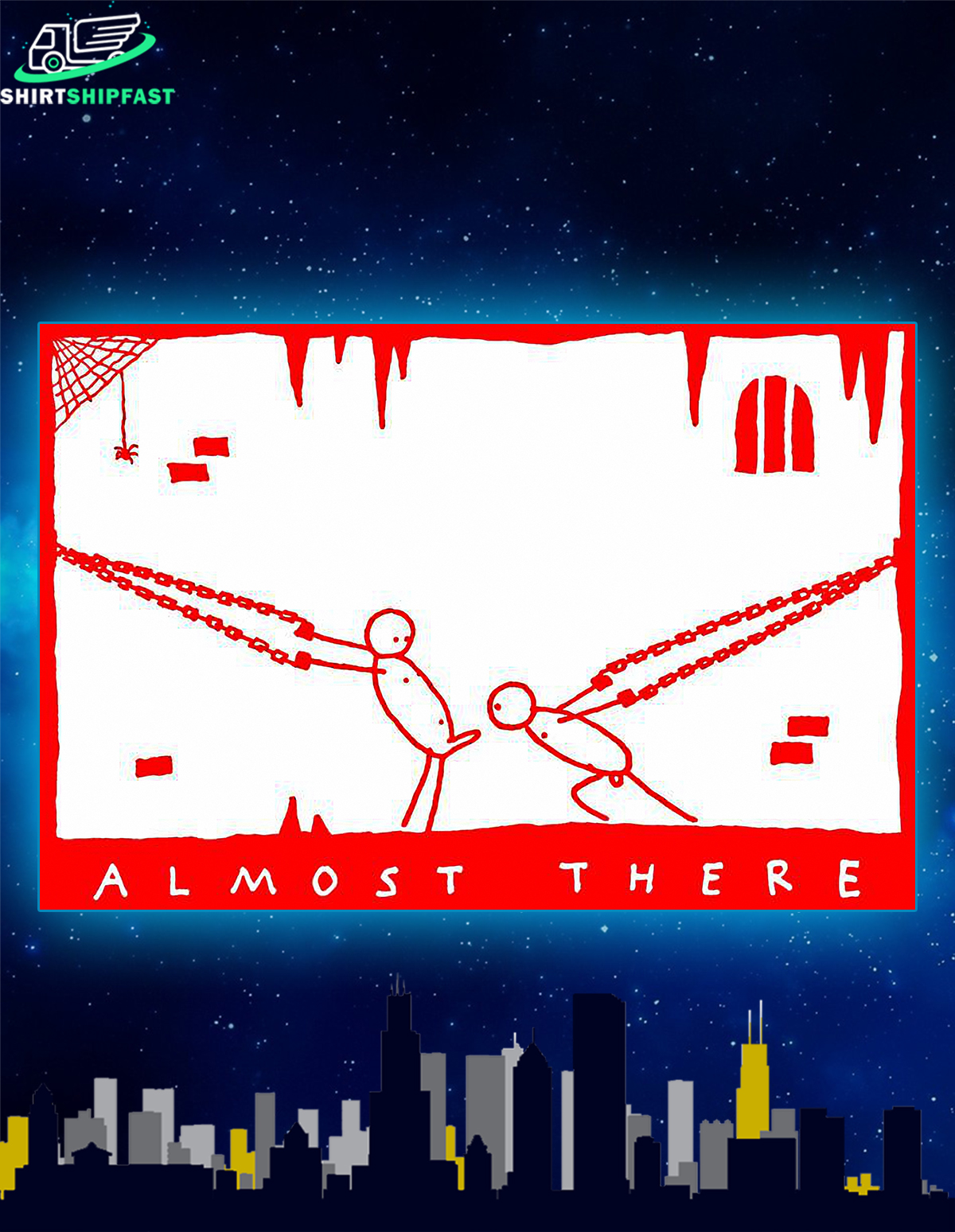 Almost there poster - Picture 1