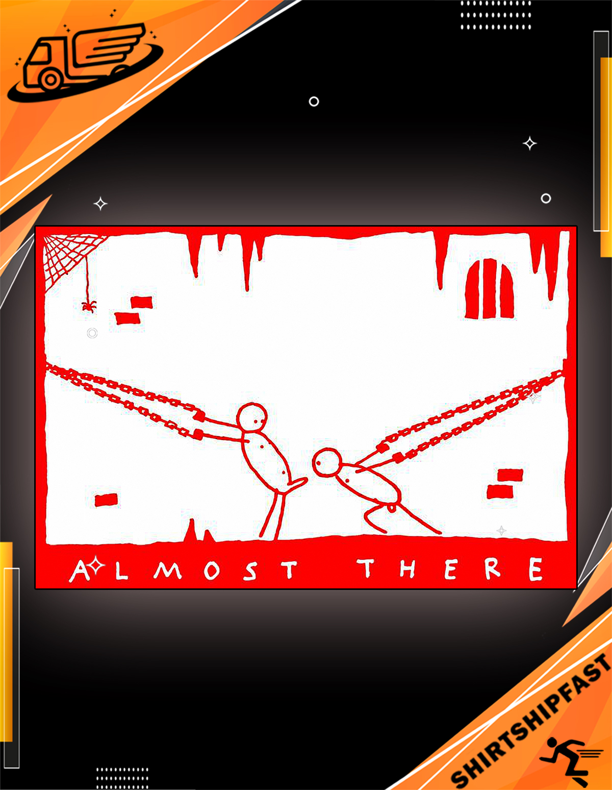 Almost there poster - Picture 2