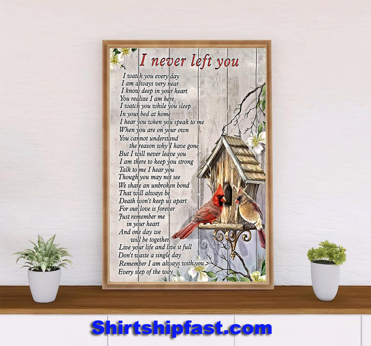 Cardinal i never left you poster - Picture 2