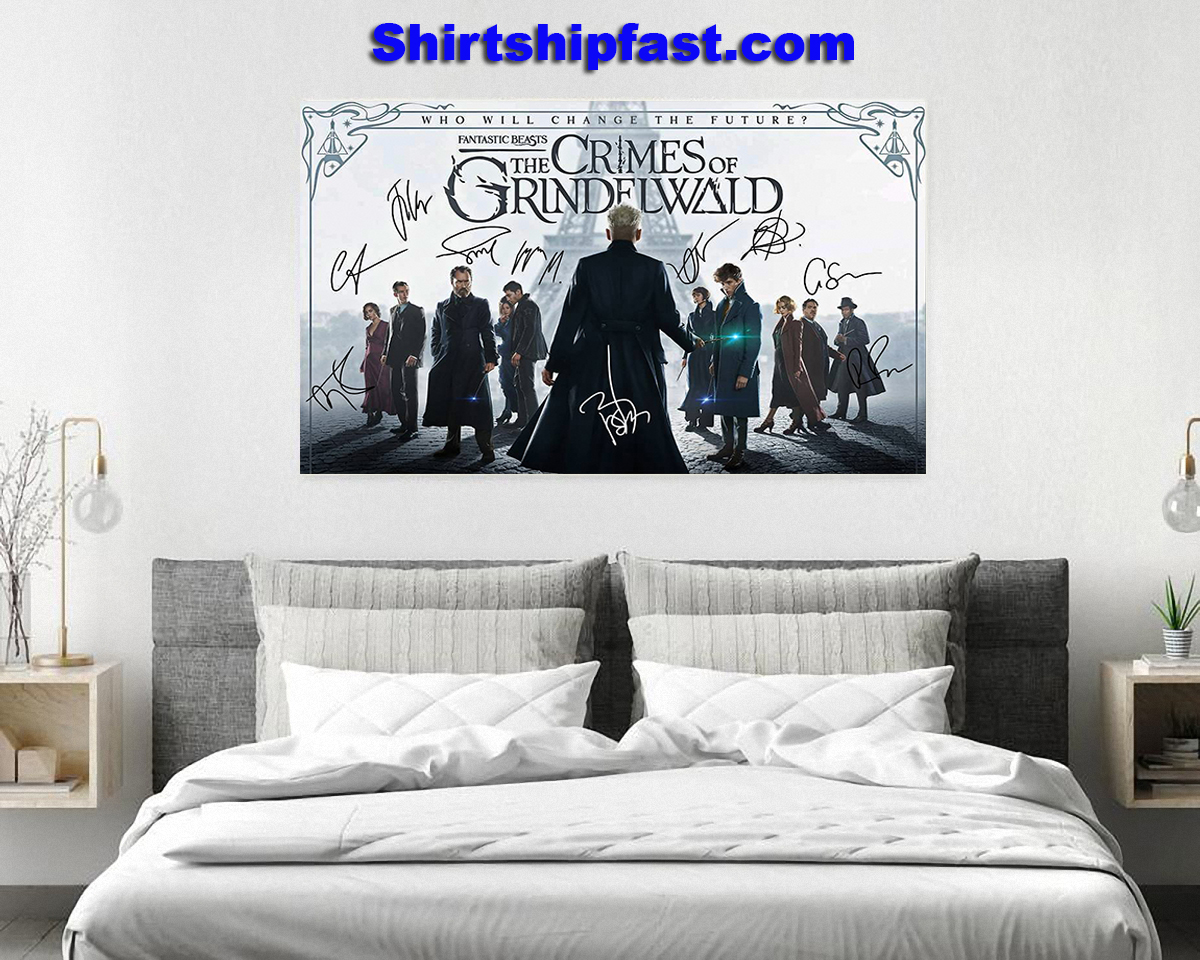 Fantatic beasts The crimes of Grindelwald signature poster - Picture 3