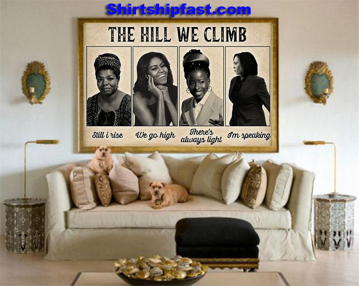 Feminists The hill we climb poster - Picture 1