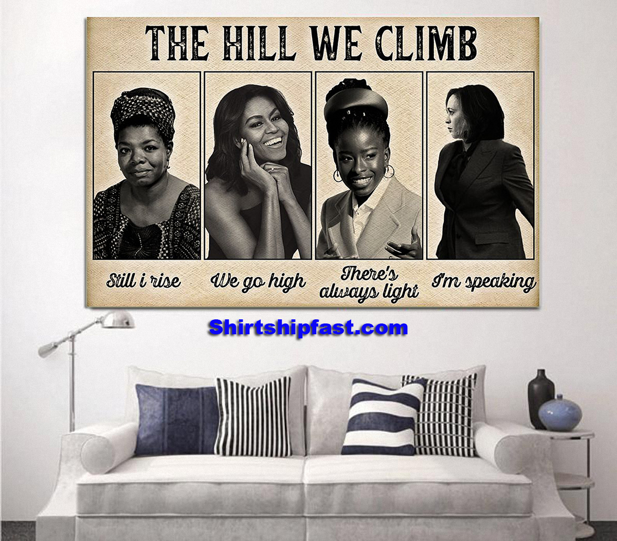 Feminists The hill we climb poster - Picture 2