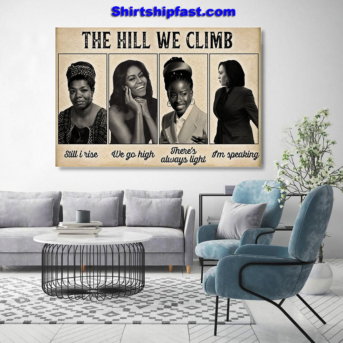 Feminists The hill we climb poster - Picture 3