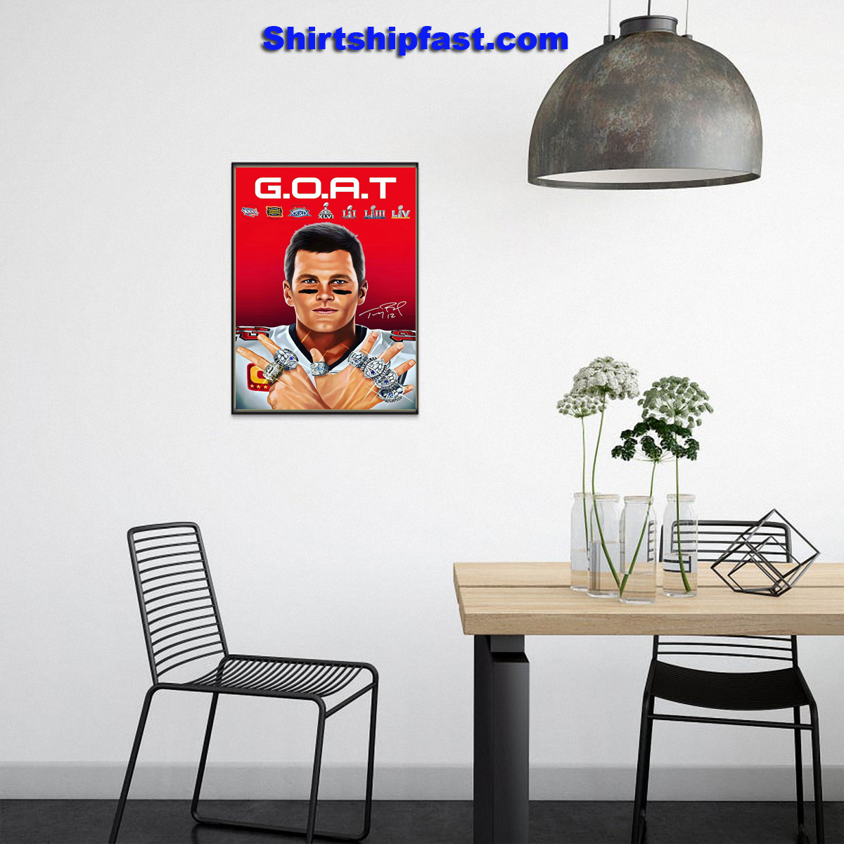 GOAT Tom Brady 2021 poster - Picture 3