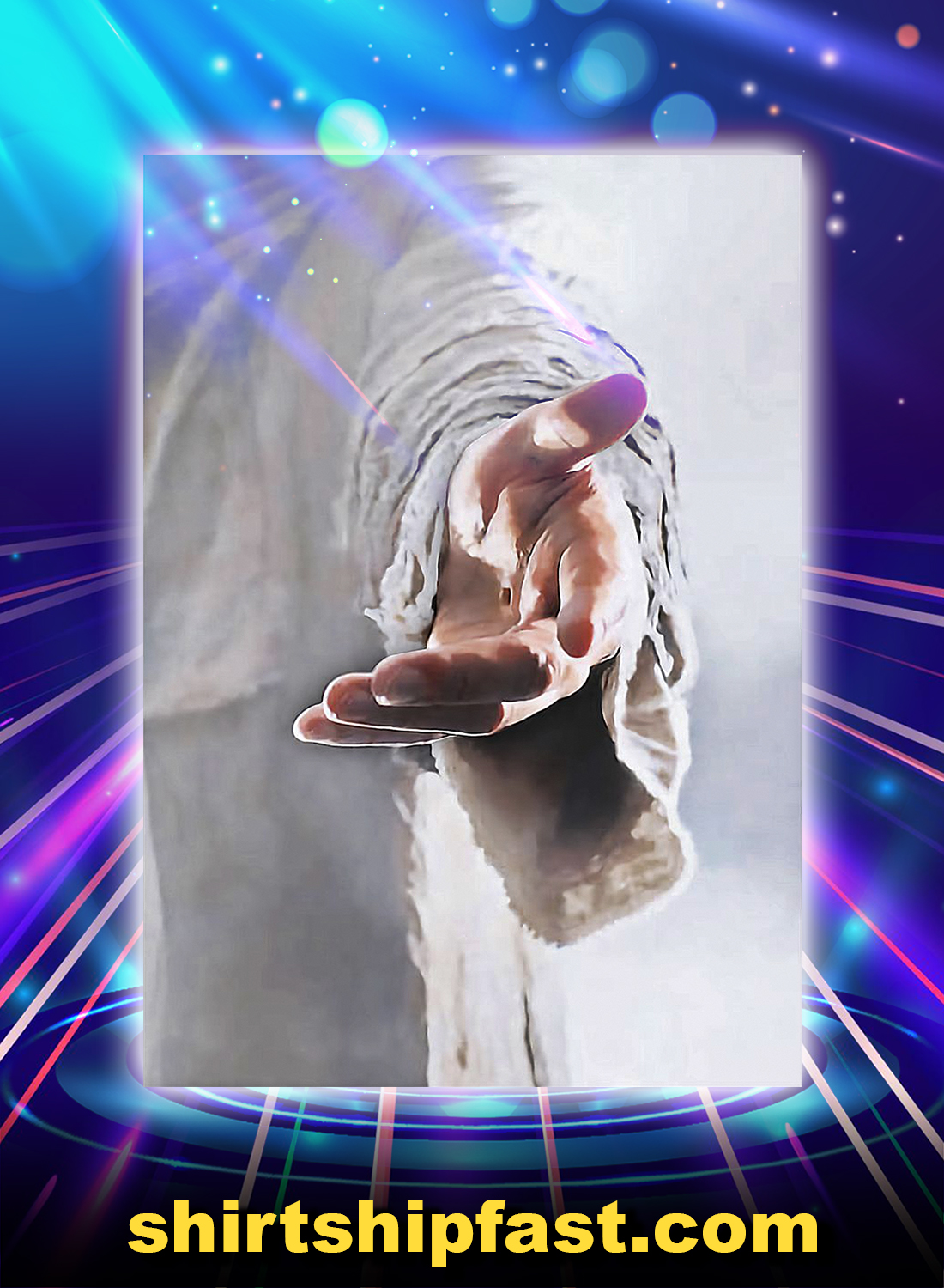 Give me your hand Jesus poster - Picture 3
