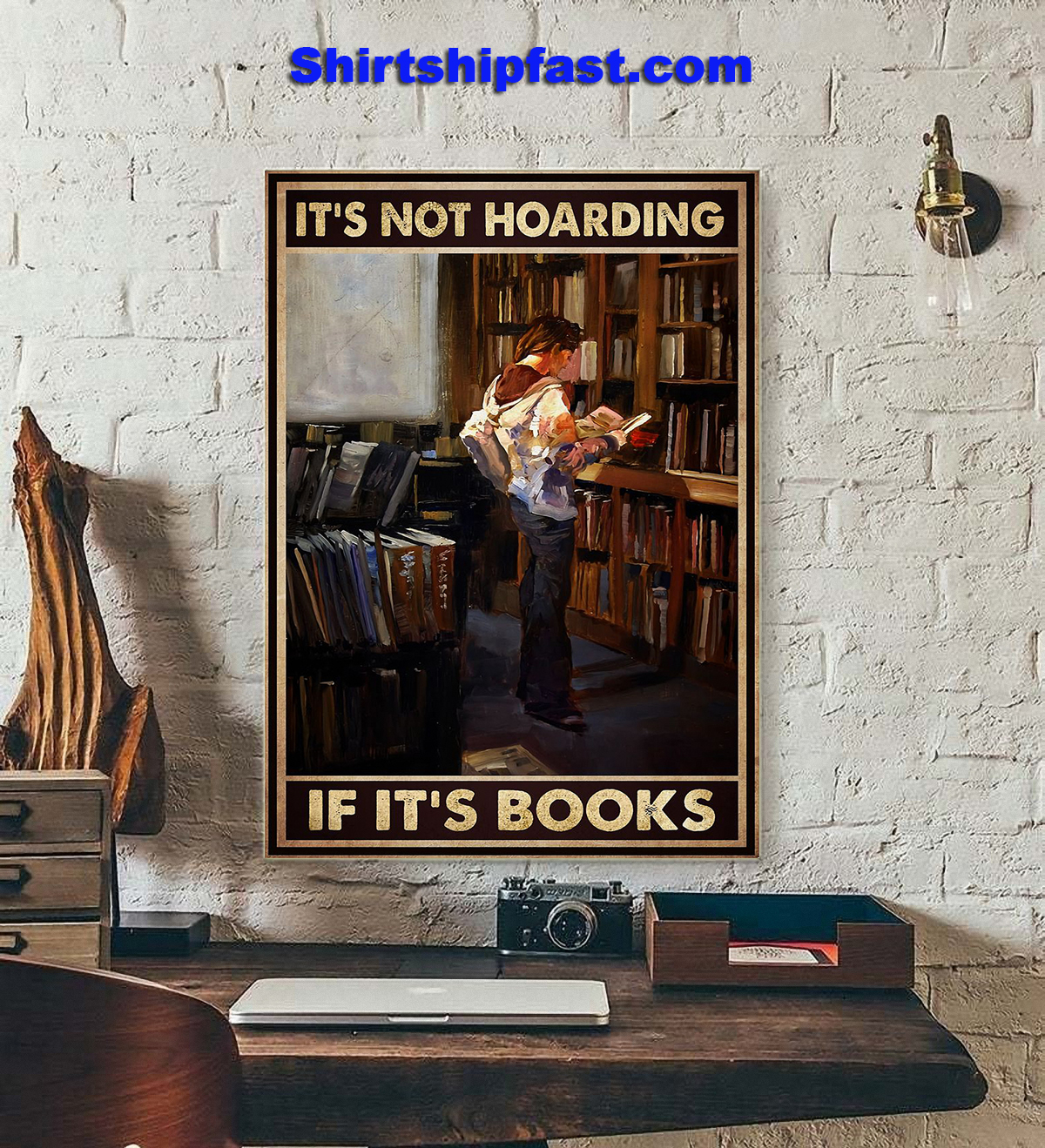 It's not hoarding if it's books poster - Picture 3