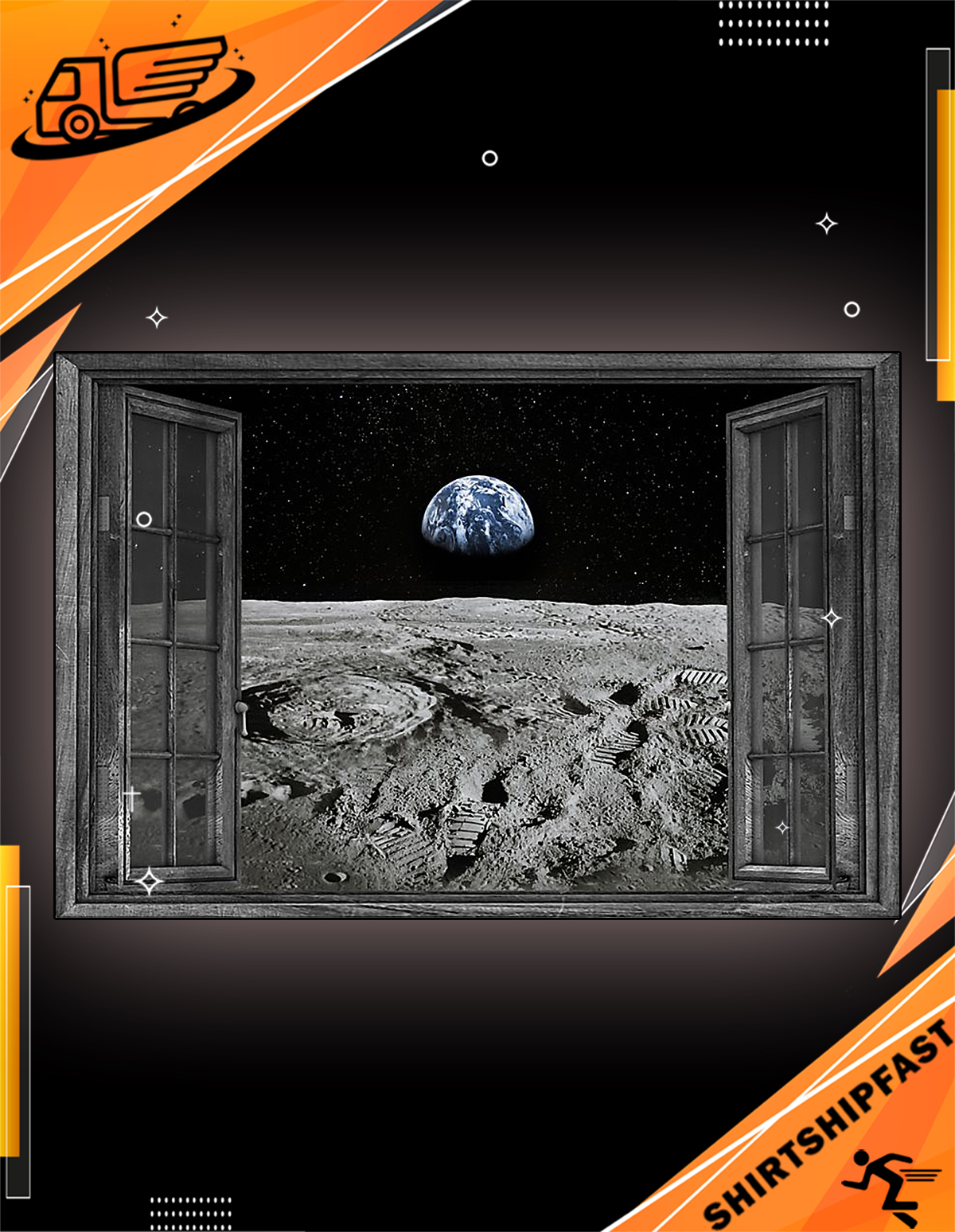 NASA found water on moon poster - Picture 2