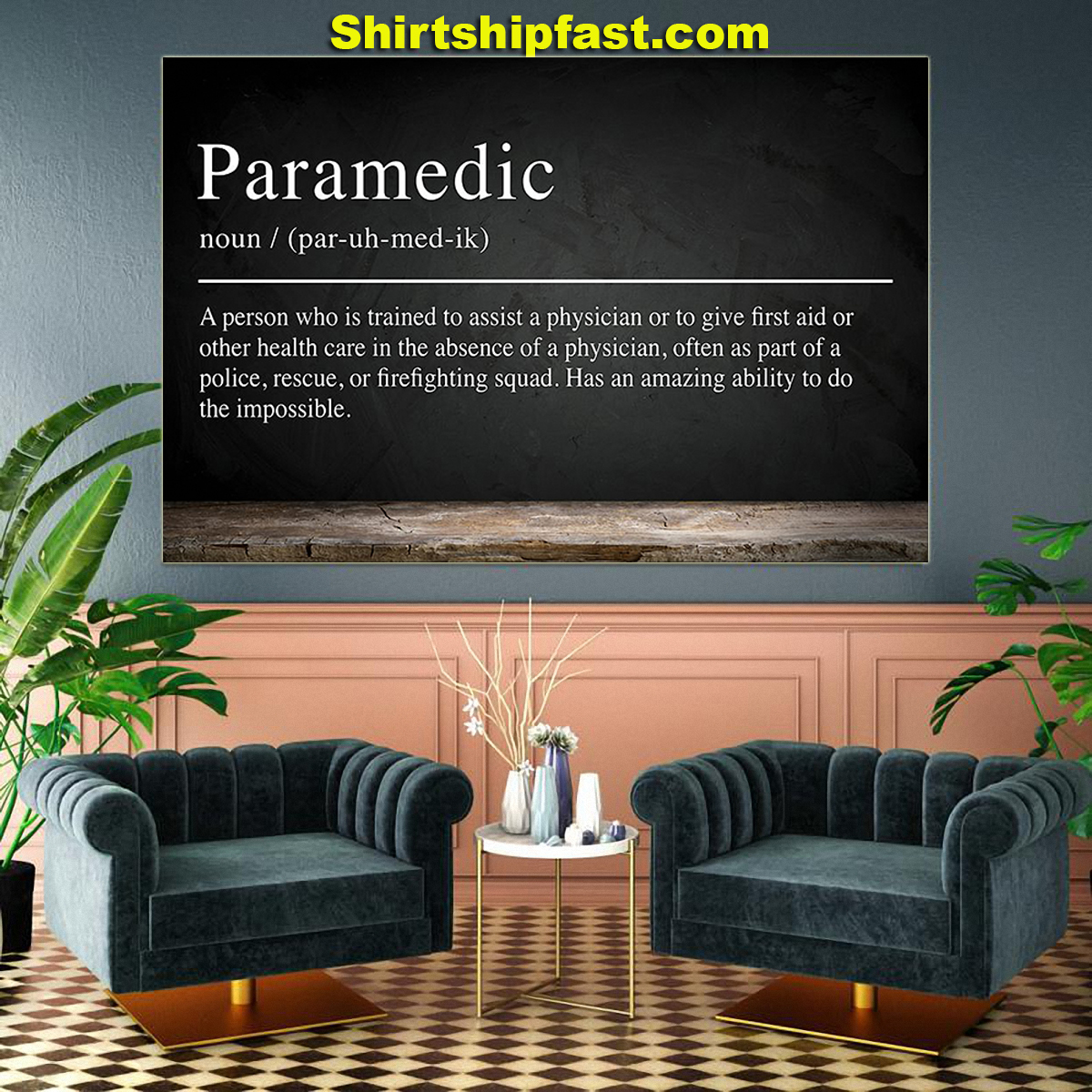 Paramedic definition poster - Picture 1