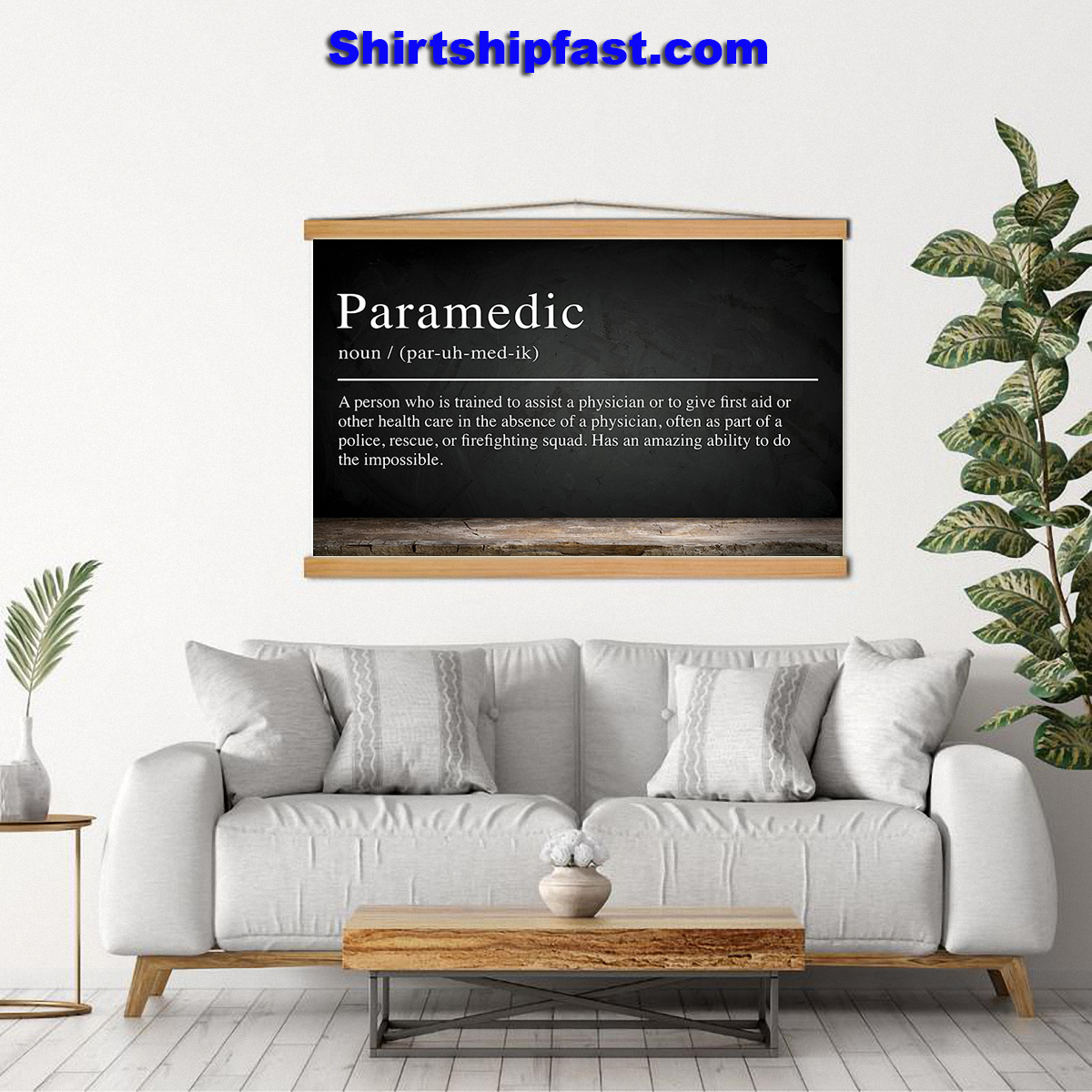 Paramedic definition poster - Picture 2