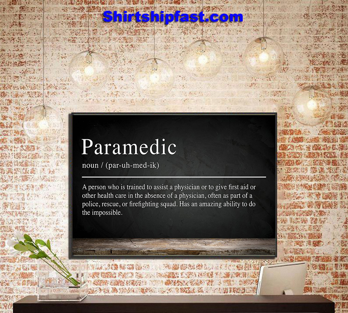 Paramedic definition poster - Picture 3