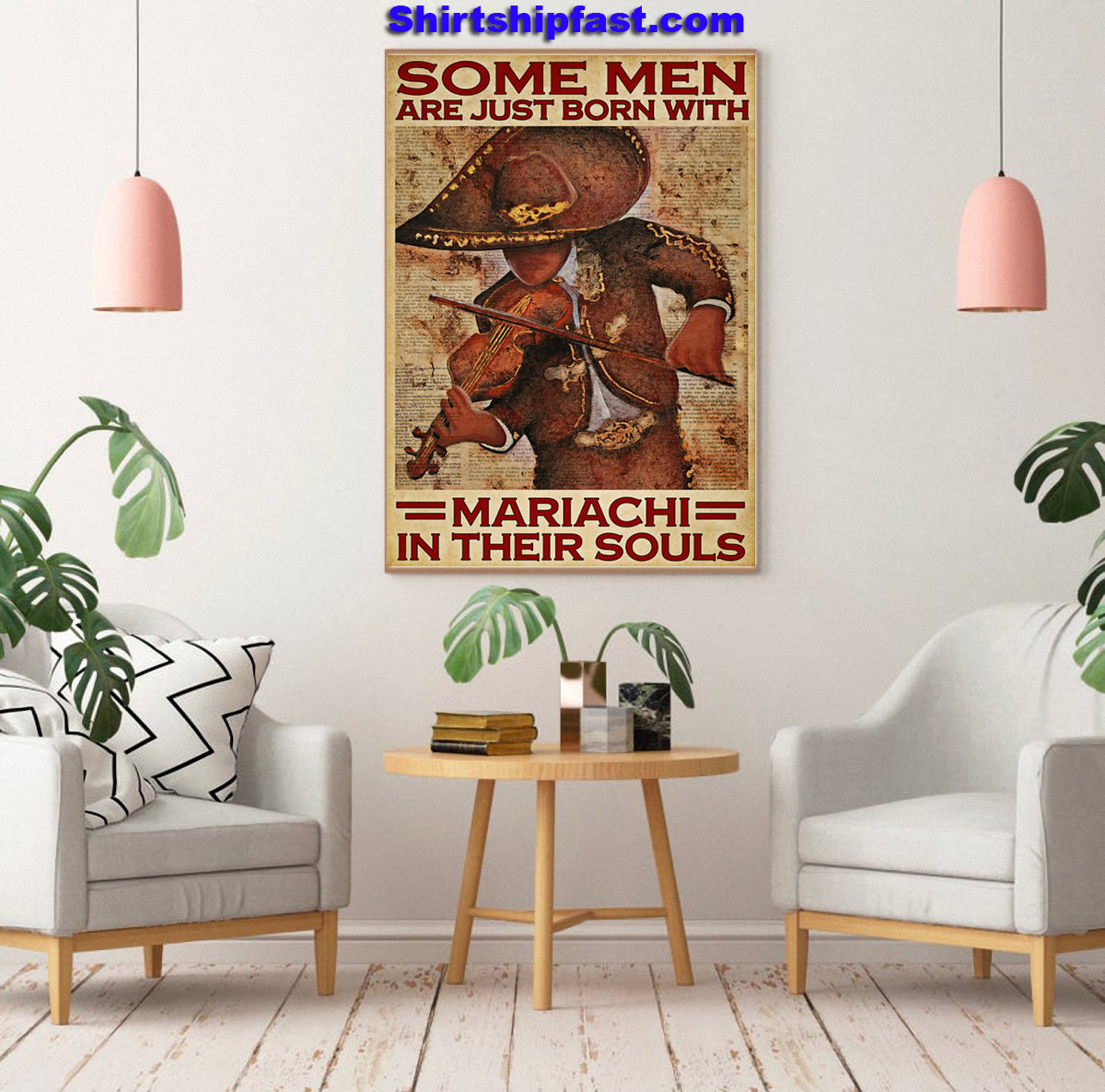 Some men are just born with mariachi in their souls poster - Picture 2