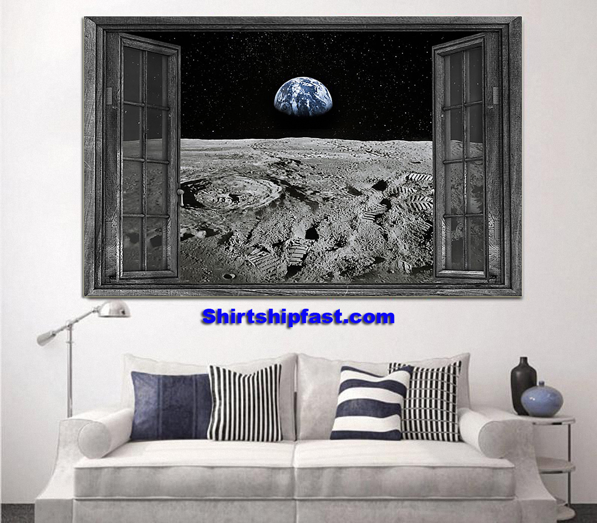 The Earth from the Moon poster - Picture 1