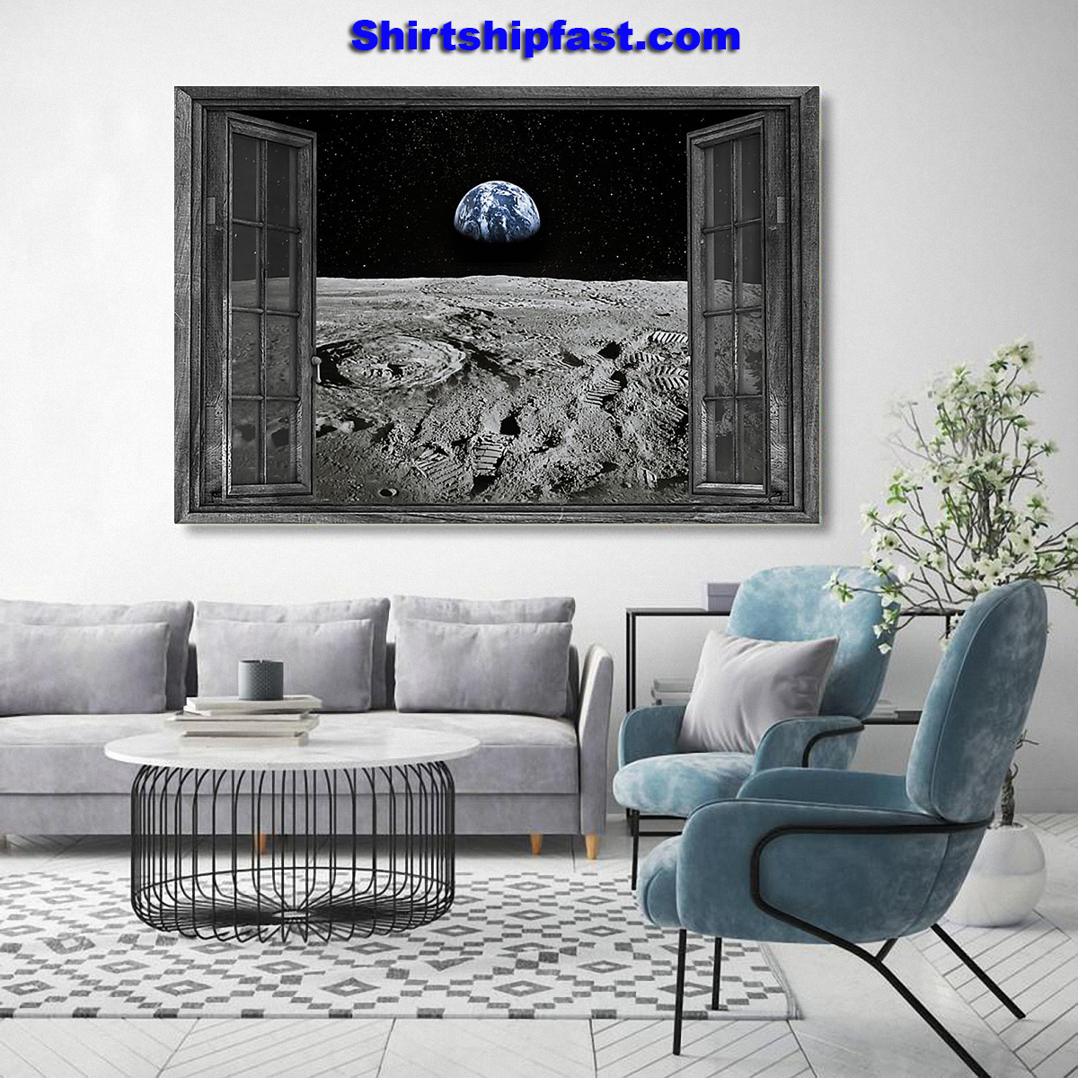 The Earth from the Moon poster - Picture 2