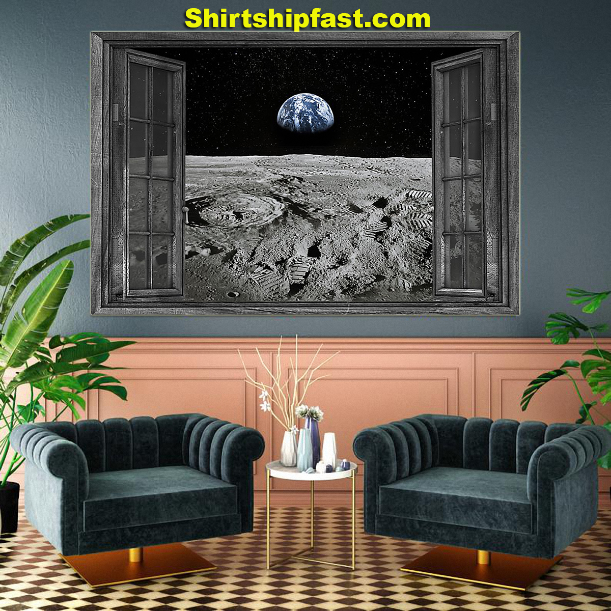 The Earth from the Moon poster - Picture 3