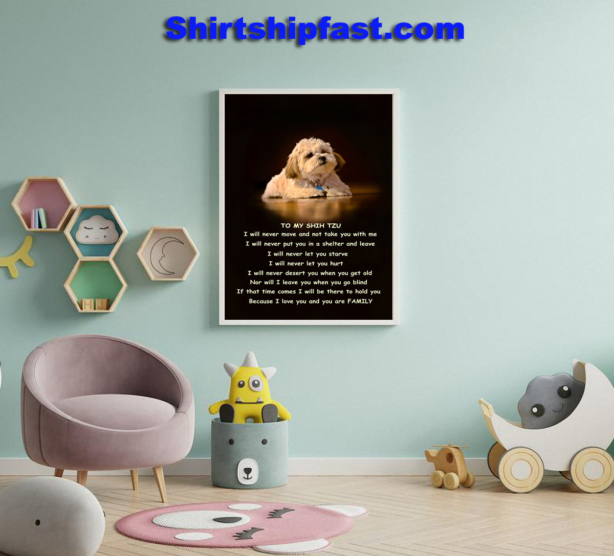 To my Shih Tzu family poster - Picture 1