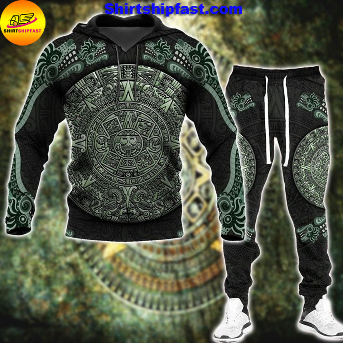 Aztec jungle hoodie and long pant