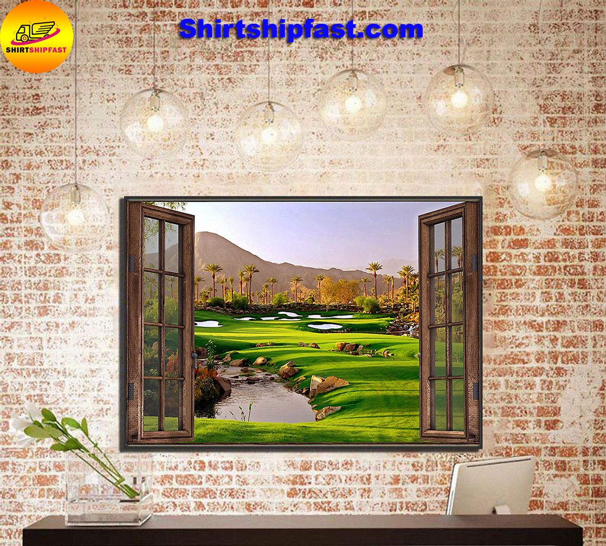 Golf window poster - Picture 3