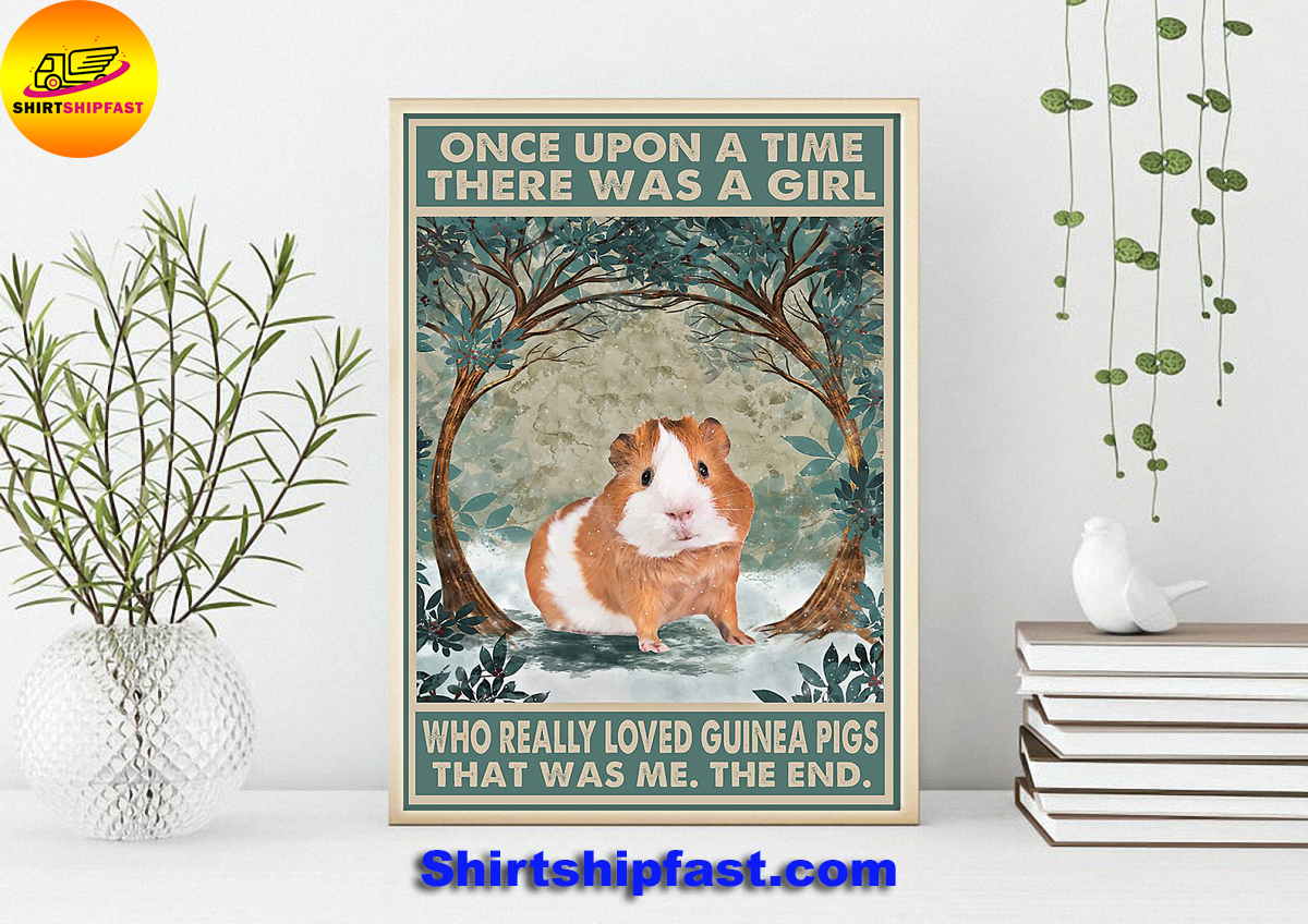 Guinea Pig Once Upon A Time Poster