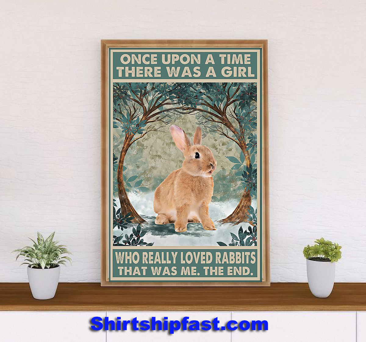 Rabbit Once upon a time poster - Picture 2
