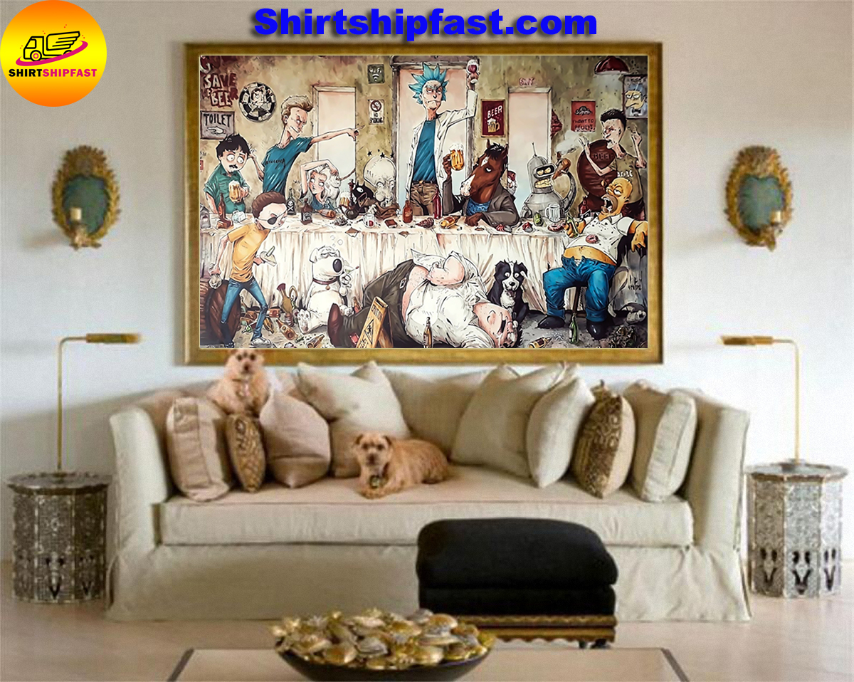 Rick and Morty the last epic supper poster