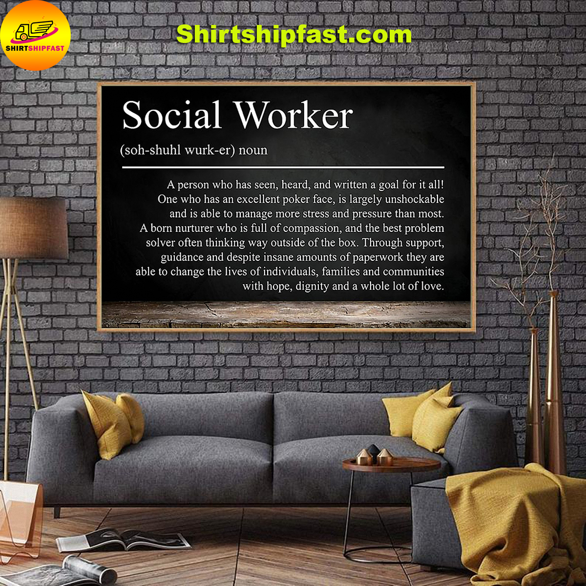 Social worker definition poster - Picture 2