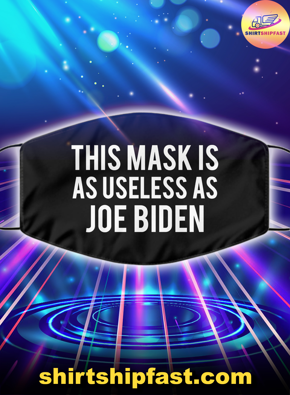 This mask is as useless as Joe Biden face mask - Picture 1