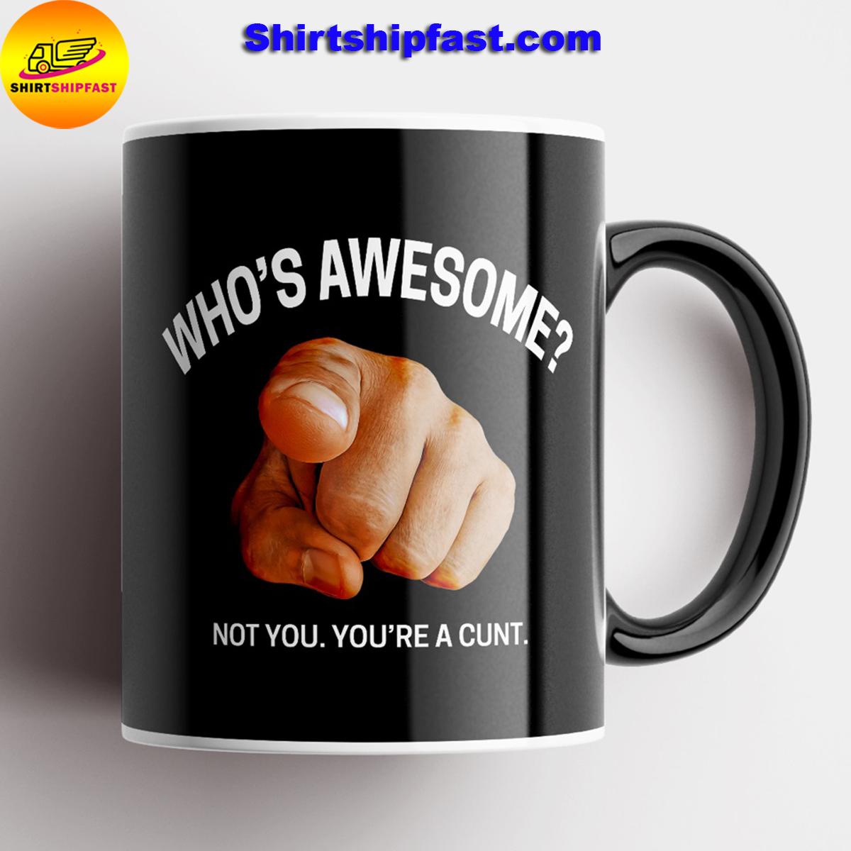 Who's awesome not you you're a cunt mug