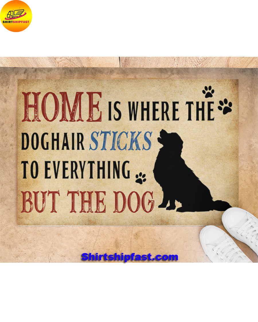 Home is where the dog hair sticks to everything but the dog doormat - Picture 1