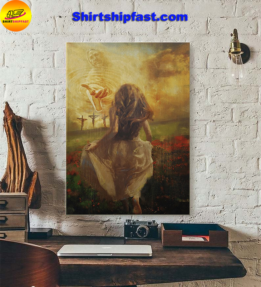 Jesus run to the beautiful world poster - Picture 3