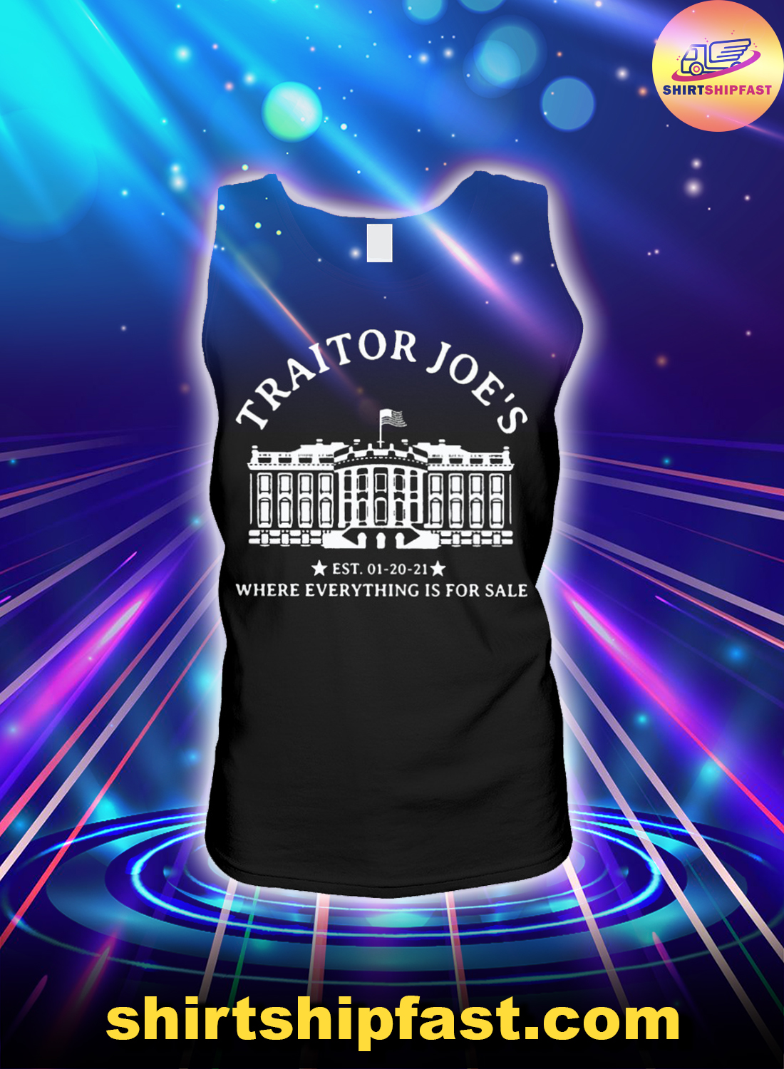 Traitor Joe's where everything is for sale tank top