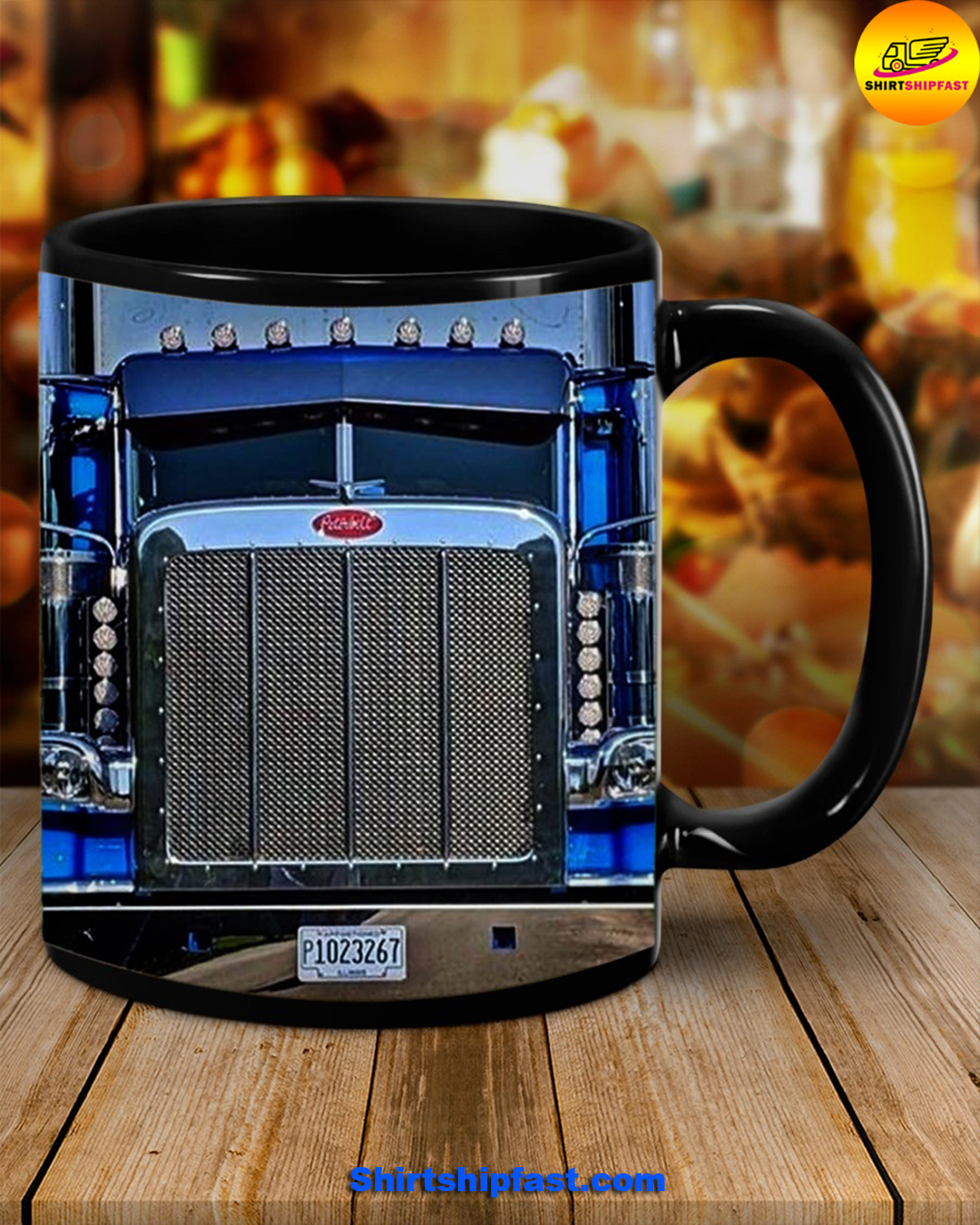 Truck driver Home is where you park it mug
