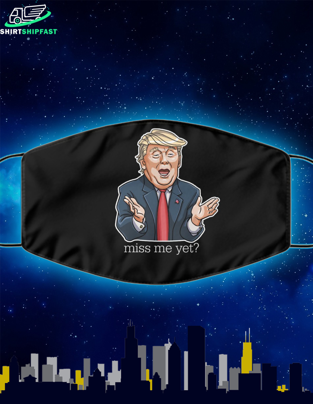 Trump miss me yet mask - Picture 2